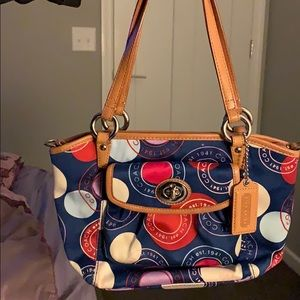 Small gently used COACH purse